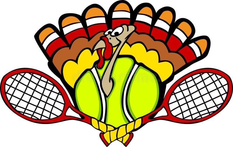 Esfera de tênis de Turquia ilustração do vetor
