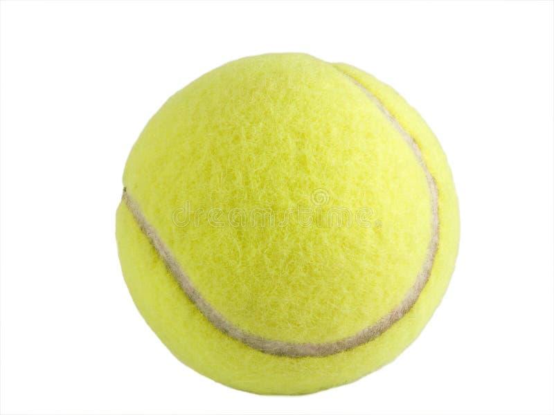 Esfera de tênis isolada fotos de stock