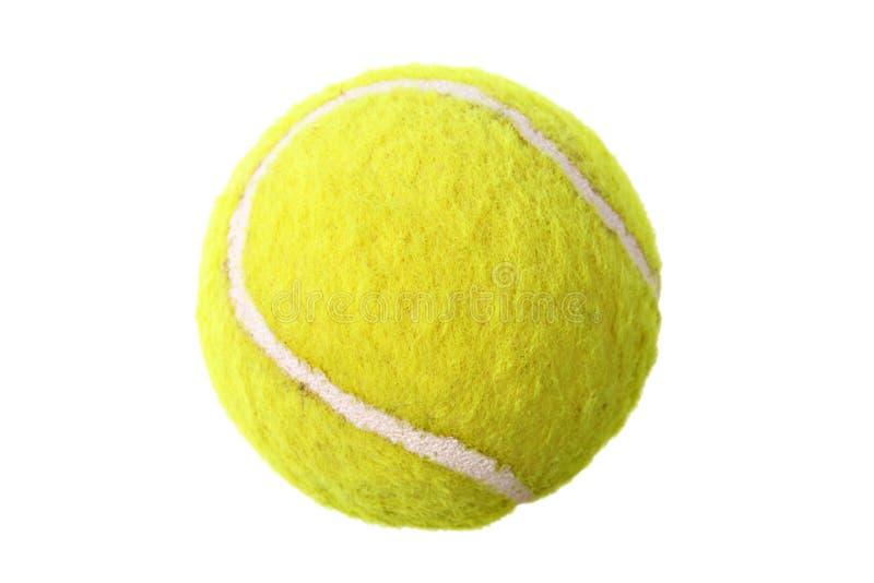 Esfera de tênis isolada fotografia de stock