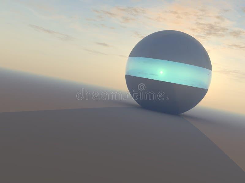 Esfera del rayo de esperanza