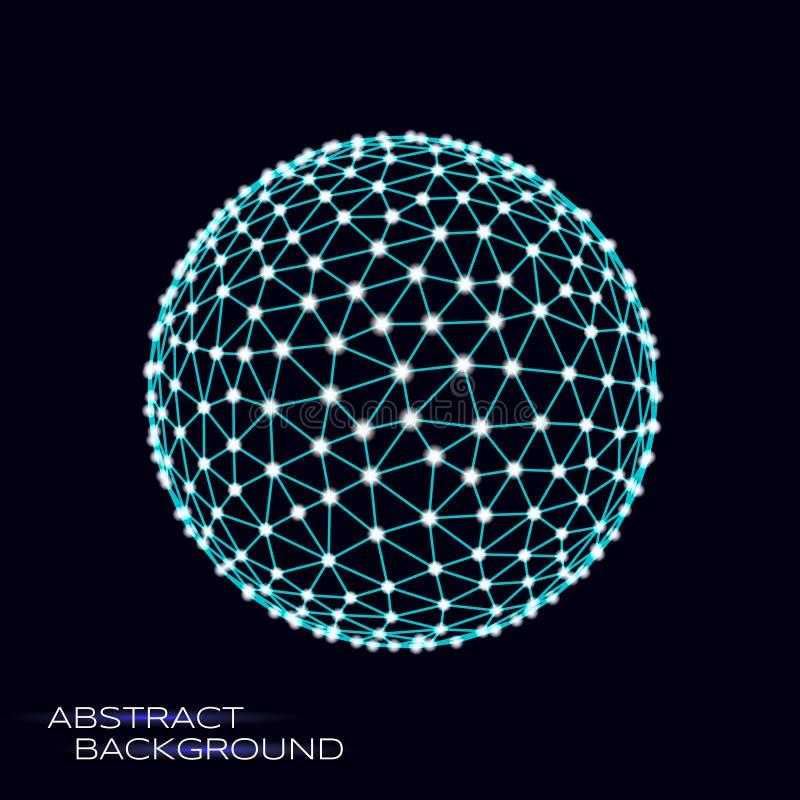 esfera del vector 3d libre illustration