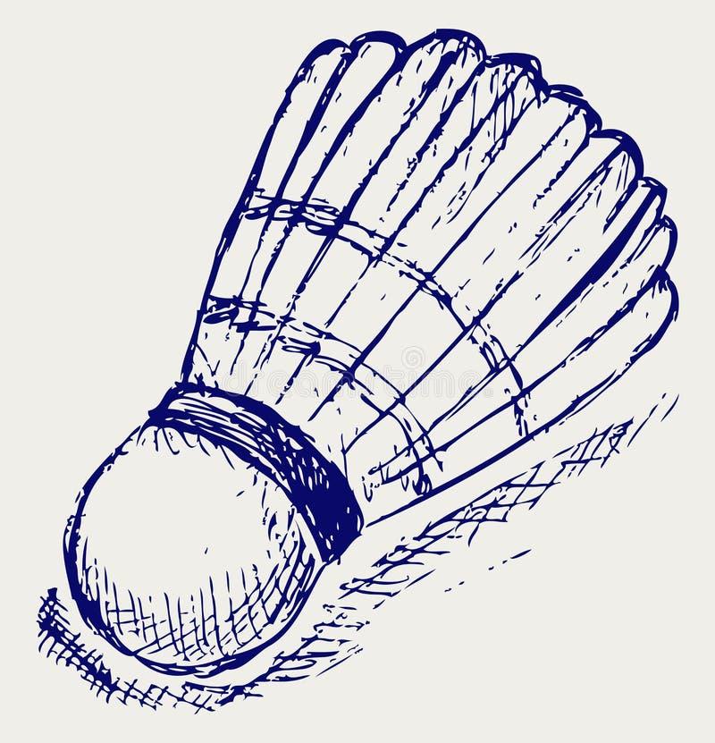 Download Esfera Do Badminton Do Esboço Ilustração do Vetor - Ilustração de childish, lazer: 26513636