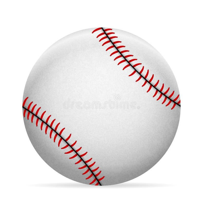 Esfera do basebol ilustração stock