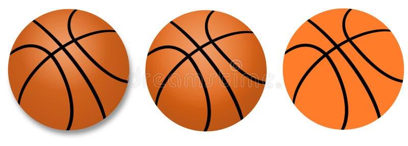 Esfera do basquetebol ilustração royalty free
