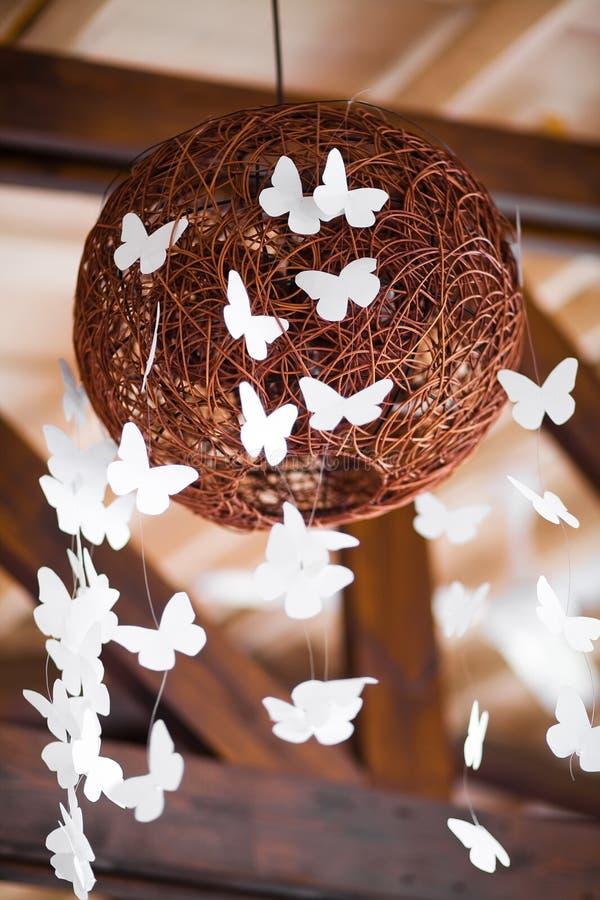 Esfera do casamento da decoração imagens de stock royalty free