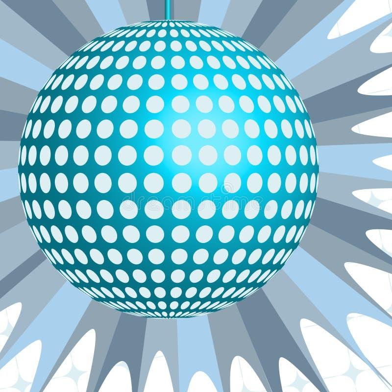 Esfera do disco ilustração stock