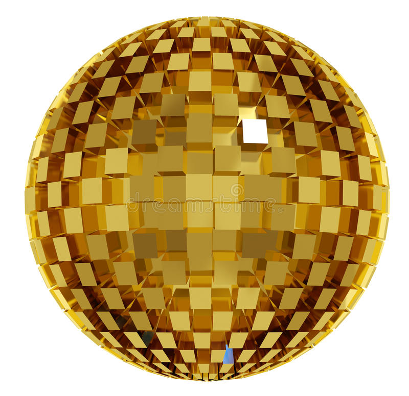 Esfera do disco. ilustração royalty free