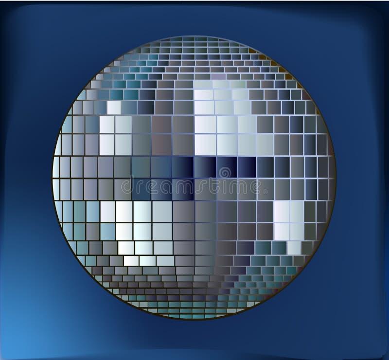 Esfera do disco ilustração do vetor