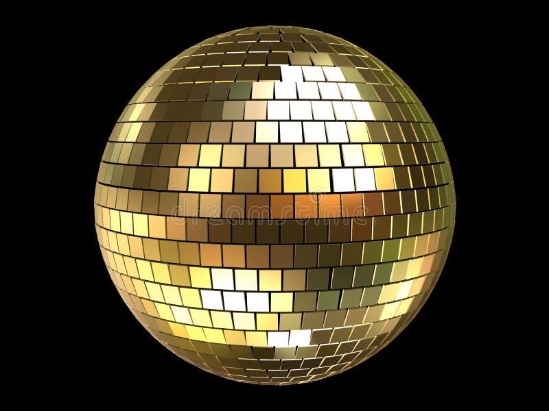 esfera do disco 3d ilustração royalty free