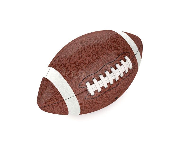 Esfera do futebol americano ilustração stock
