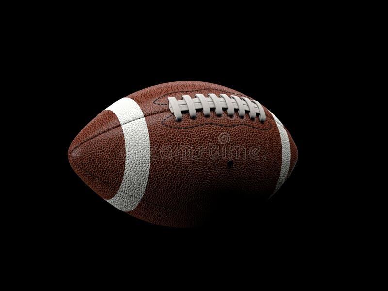 Esfera do futebol americano ilustração do vetor