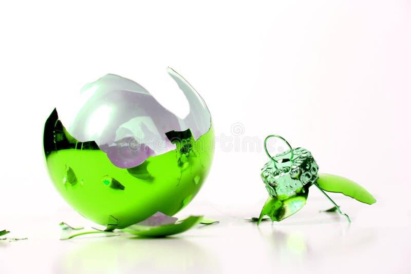 Download Esfera do Natal foto de stock. Imagem de feriado, vidro - 16850808