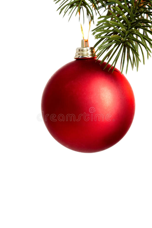 Esfera do Natal fotografia de stock