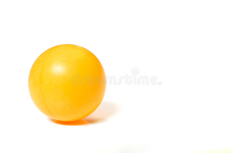 Esfera do pong do sibilo fotografia de stock royalty free