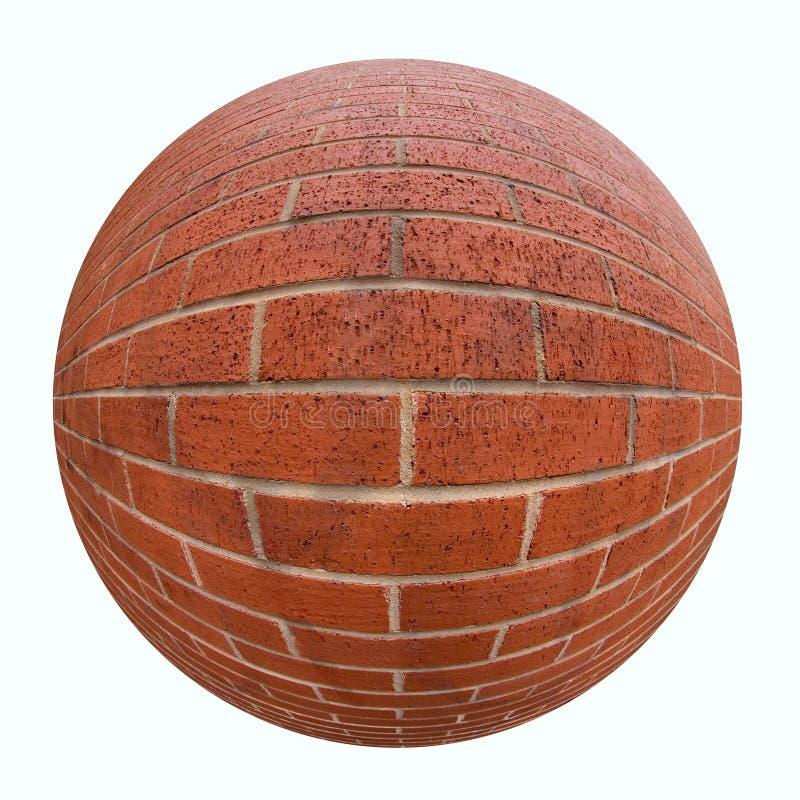 Esfera do tijolo imagens de stock