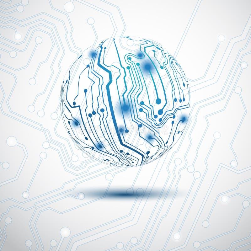 Esfera eléctrica libre illustration
