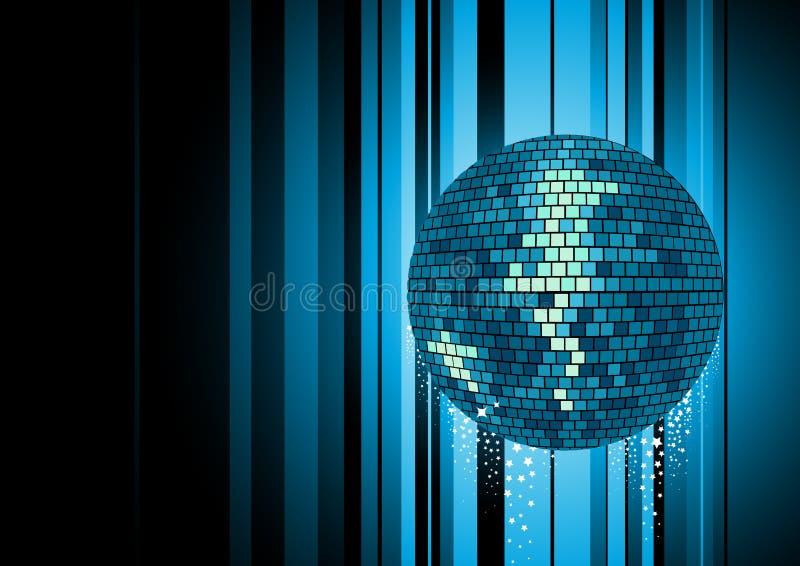Esfera elétrica do disco ilustração stock