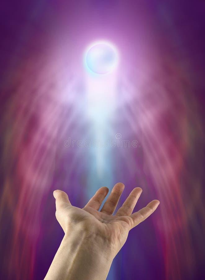 Esfera espiritual imagem de stock