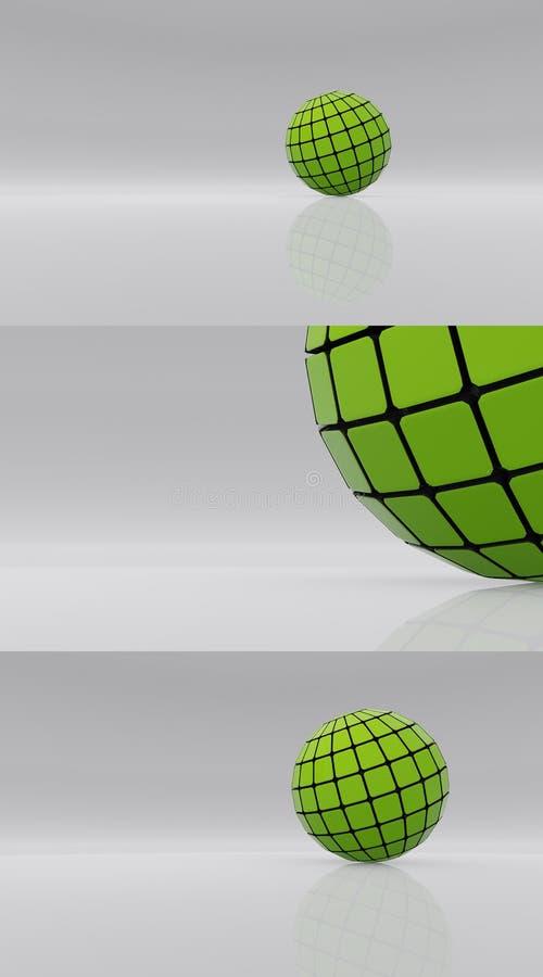 Esfera futura v2 imagen de archivo