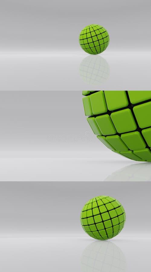 Esfera futura v5 fotos de archivo