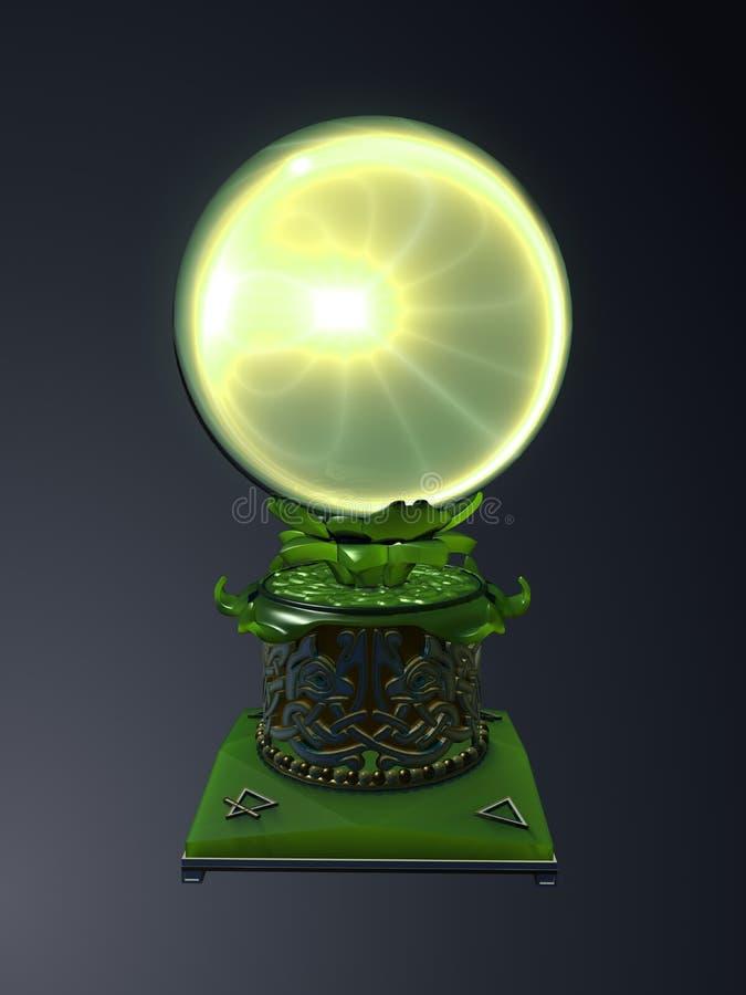 Esfera mágica ilustração royalty free