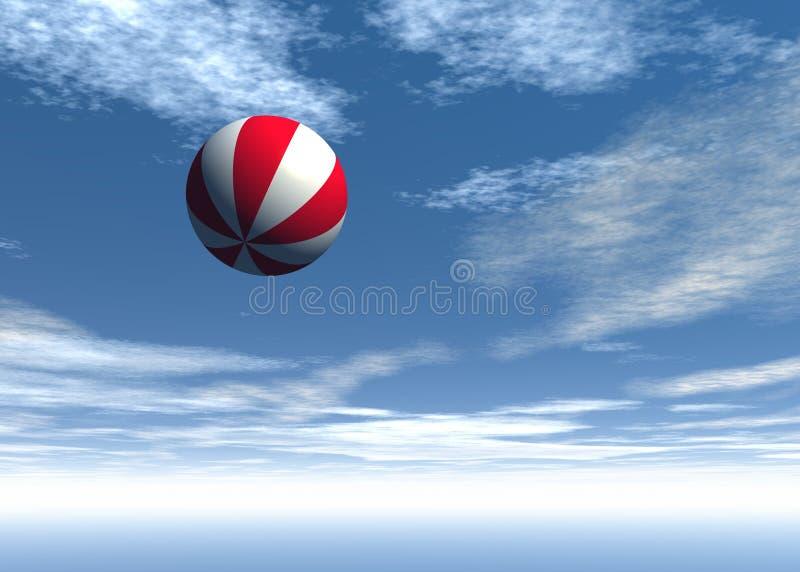 Esfera no céu fotos de stock