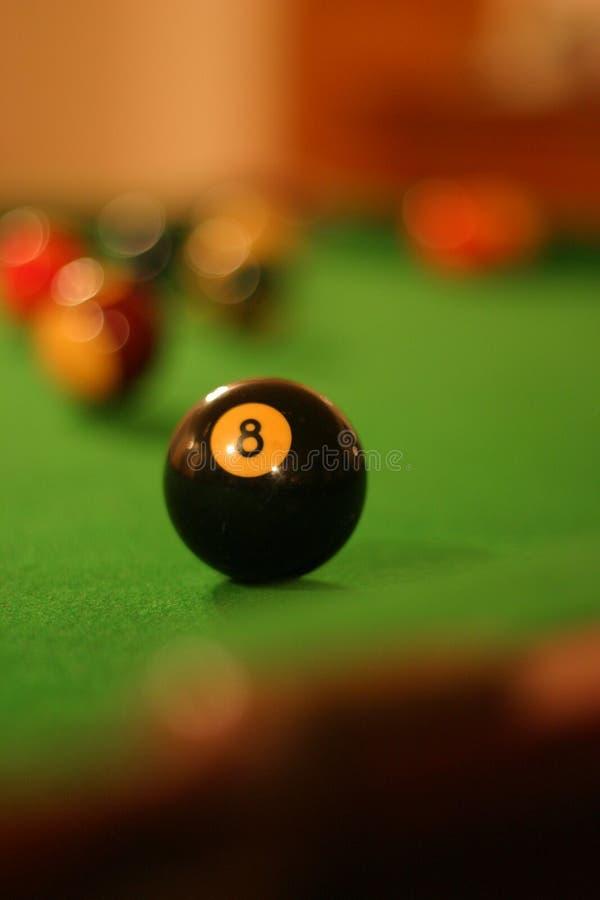 Download Esfera oito imagem de stock. Imagem de billiard, listra - 544313