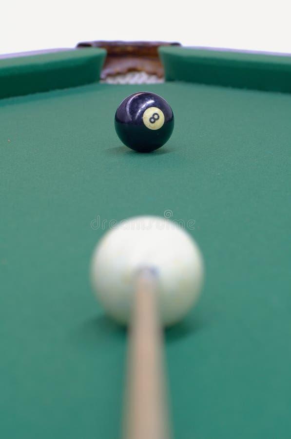 A esfera preta está sendo apontada foto de stock royalty free