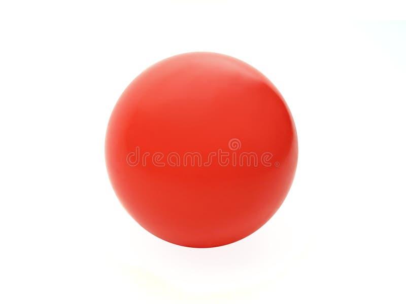 Esfera vermelha imagens de stock