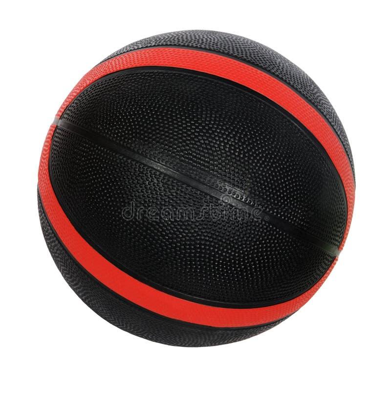 Esfera Vermelha E Preta Do Basquetebol Fotos de Stock Royalty Free