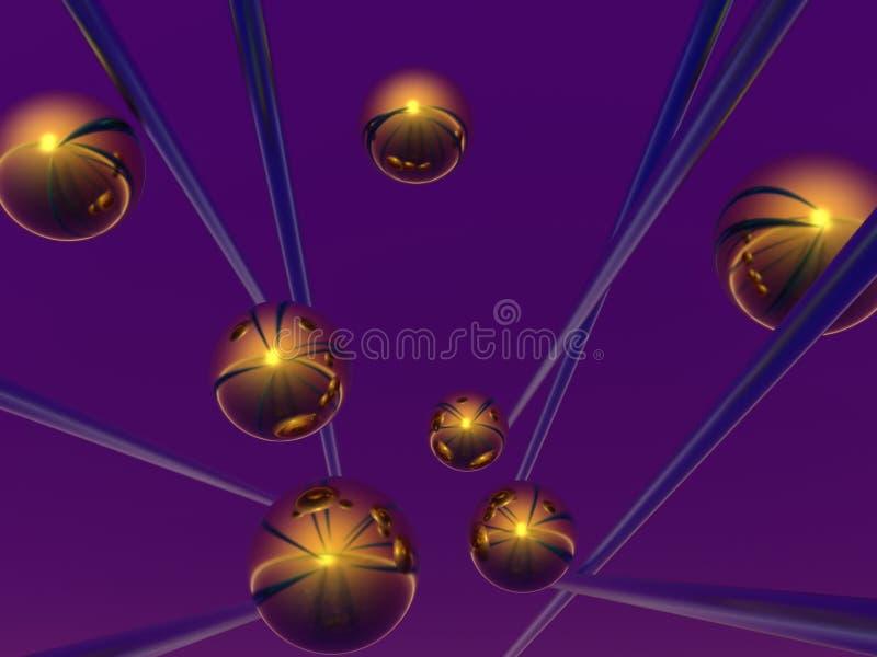 Download Esferas stock de ilustración. Ilustración de arte, cristal - 1292517