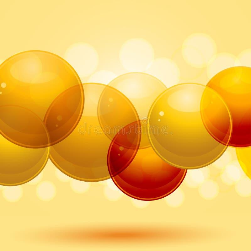 esferas 3d ilustração royalty free
