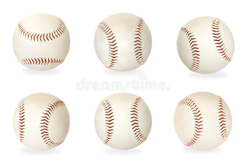 Esferas baixas isoladas no fundo branco foto de stock