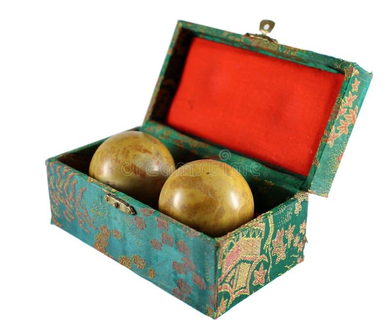 Esferas chinesas de Baoding imagem de stock royalty free