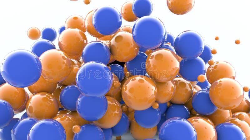 esferas coloridas 3D libre illustration