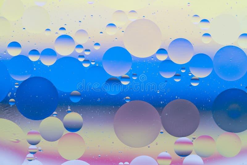 Esferas coloridas de la burbuja foto de archivo