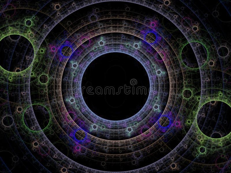 Esferas da dança da energia imagem de stock