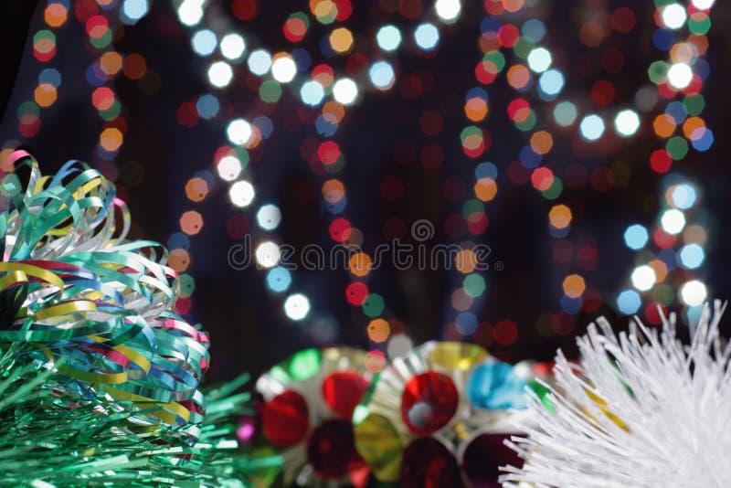 Esferas de ano novo imagens de stock