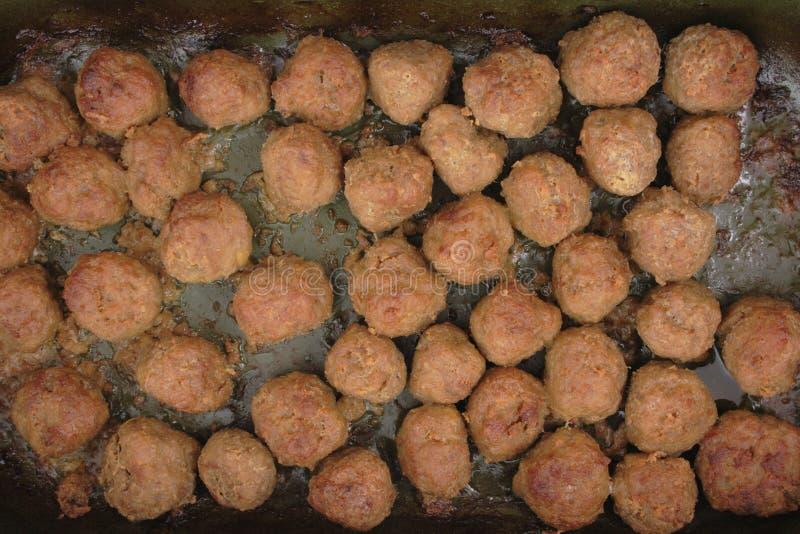 Download Esferas de carne foto de stock. Imagem de roasted, hamburger - 12808384