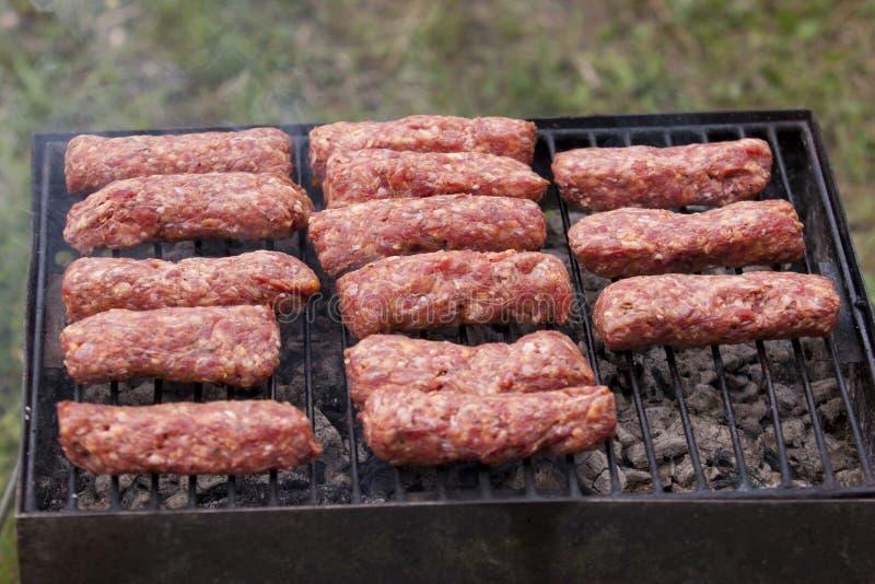 Esferas de carne tradicionais do alimento   fotografia de stock royalty free