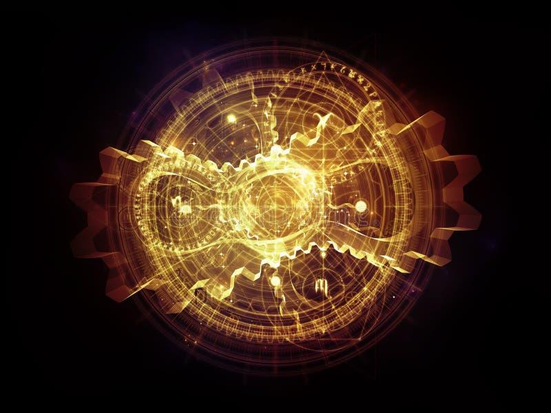 Esferas de la geometría sagrada ilustración del vector