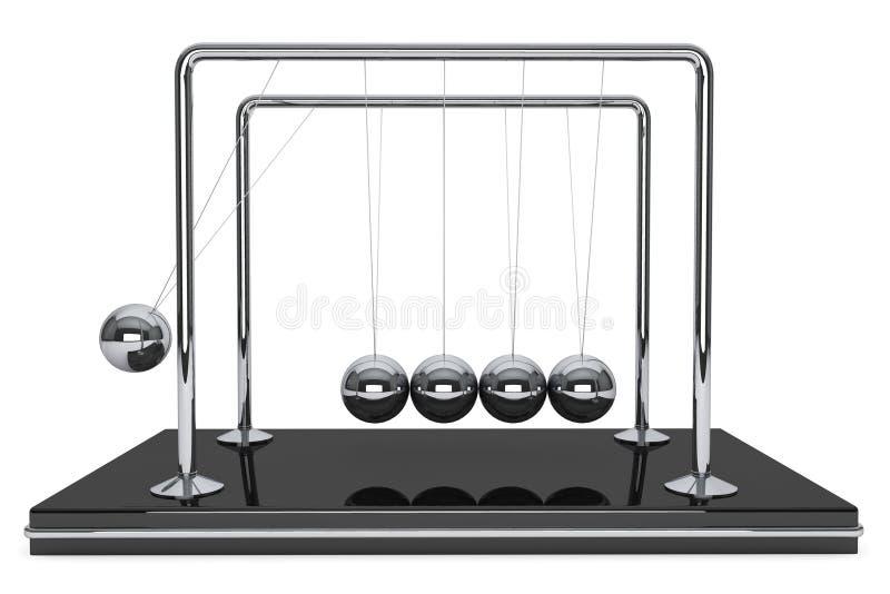 Esferas de Newton stock de ilustración