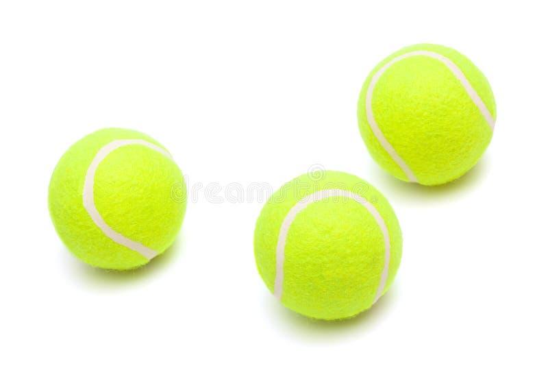 Esferas de tênis fotografia de stock royalty free