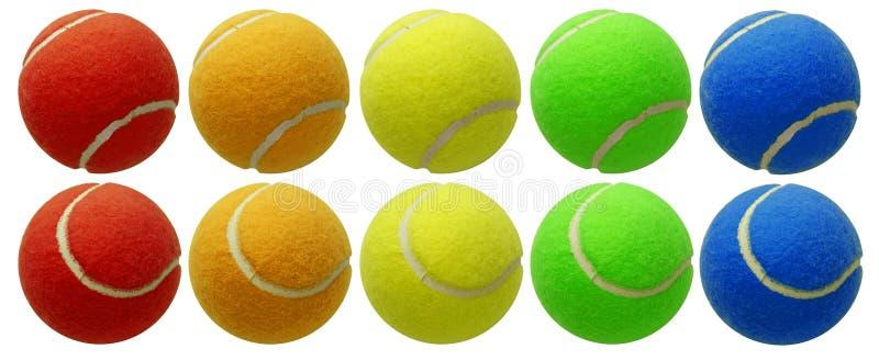 Esferas de tênis imagens de stock royalty free