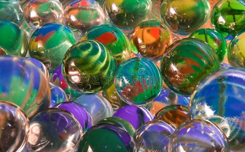 Esferas de vidro fotos de stock royalty free