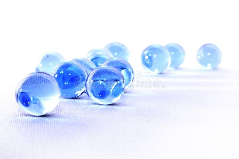 Esferas de vidro foto de stock royalty free