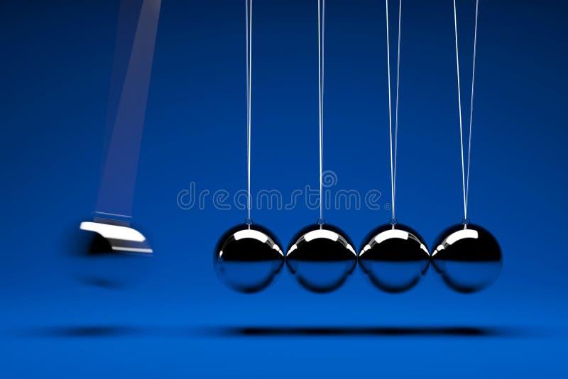Esferas do balanço ilustração royalty free