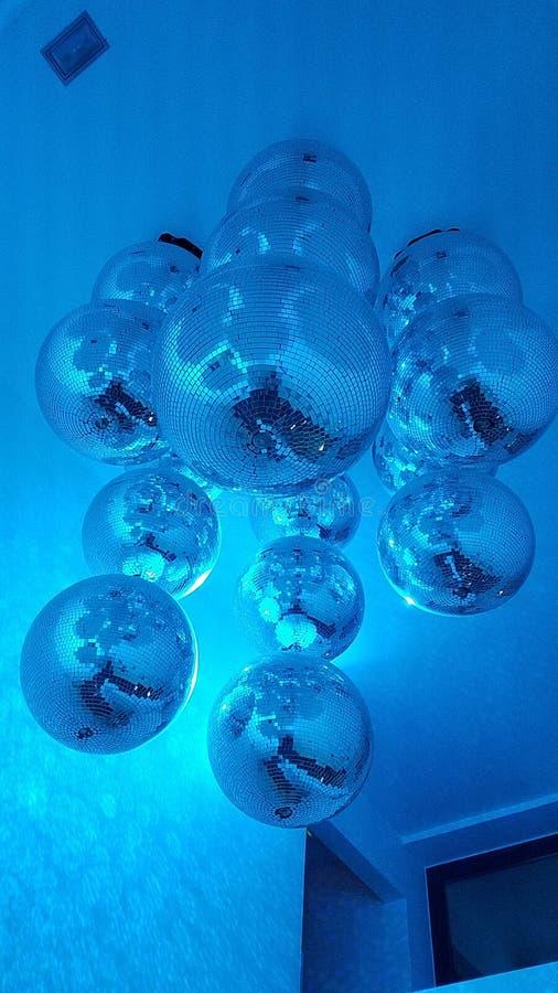 Esferas do disco foto de stock