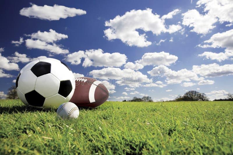 Esferas do esporte fotos de stock royalty free