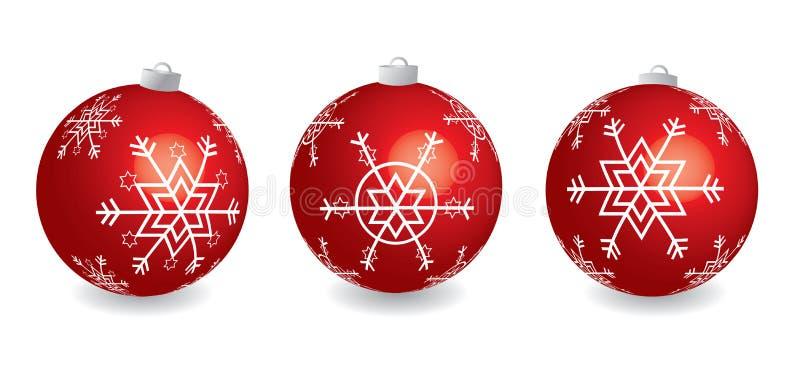 Download Esferas do Natal ilustração do vetor. Ilustração de feriado - 16867206